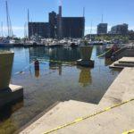 オンタリオ湖の水位が上昇して、トロントアイランドに行けない?!