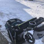【トロント】大雪の中の送り迎えで三輪ベビーカーが大活躍した話