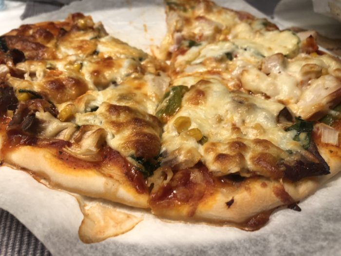 生地 ホームベーカリー ピザ