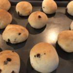 4歳児とお菓子作り~HBで作るチョコチップパン!