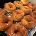 4歳児とお菓子作り~簡単!HBで作るハニーグレイズドドーナツ