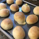 4歳児とお菓子作り~ホームベーカリーで作る、カスタードクリームパン!