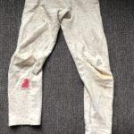 ダーニングで子供のズボンとレギンスを繕ってみた