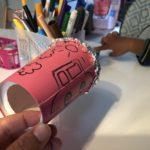 【幼児の工作】簡単!紙コップとアルミホイルで作る面白マイク