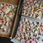 子供とクリスマスアイシングクッキーを作りました